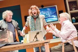 REVIEW: Octopus Soup at Theatre Royal Windsor