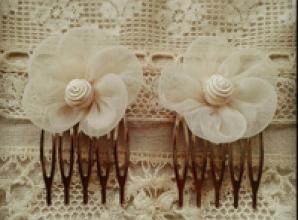 Pick up bespoke bridal accessories at wedding fair