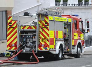 Car fire in Taplow tackled by firefighters