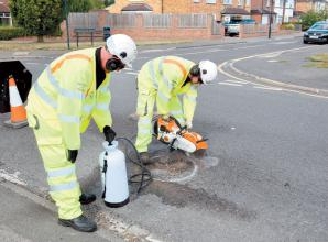 Royal Borough launches 24 working hour pothole fix pledge