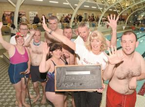 Windsor Lions' raise more than £5,000 at annual swimathon