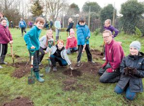 Marlow area news: Holy Trinity School's planting initiative 'best day ever'