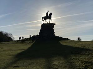 The Big Picture: Windsor Great Park on Christmas Day by Pawel Kloch