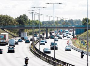 M4 closures between junctions 6 and 8/9 this weekend