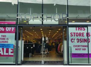 Topshop in Windsor Yards to remain open for another month