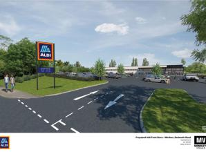 Planning permission granted for new Aldi store in Windsor