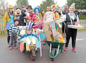 Sunninghill Fancy Dress Wheelbarrow race postponed