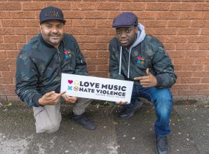 Love Music Hate Violence launches new project