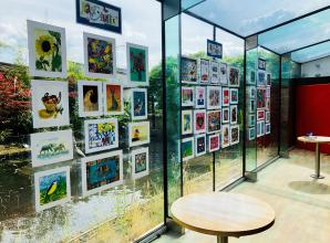 Learning disability arts and crafts group unveil exhibition