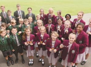 Records broken by young athletes from Claires Court Schools