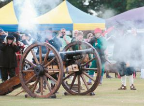 English Civil War re-enacted at family picnic