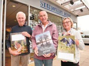Calendar launched showcasing Cookham wildlife photos