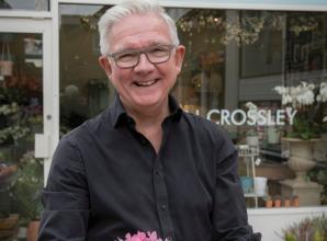 Martyn Crossley opens new florist in Windsor Yards