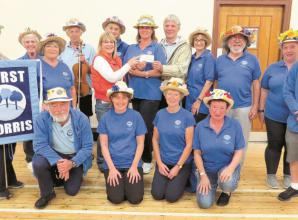 Hurst morris dancers raise money for well being sessions
