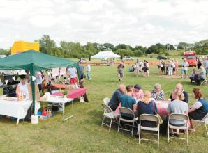 Chair of Charvil Village Fete steps down