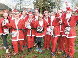 Charity news: Marlow Santa Fun Run returns