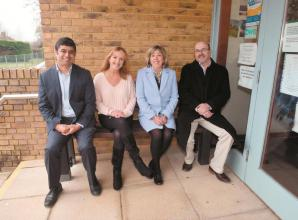 A new bench has been installed outside Twyford Surgery