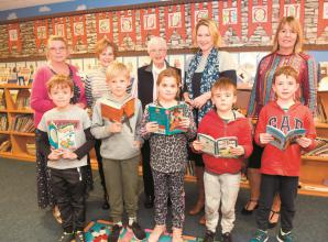 Twyford school pupils read with the elderly in new reading project