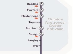 Maidenhead on the tube map as services change