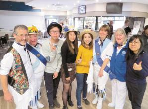 Hurst morris people teach exchange students uniquely adapted dance