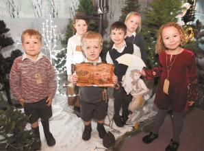 Burchetts Green School journeys to Narnia