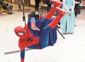 Elsa and Spider-Man entertain at first 'Terrific Tuesday'