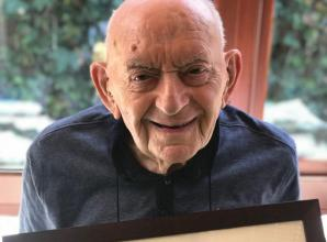 Thoughtful people make a 100th birthday in isolation special