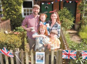 VE Day marked with lighting and cream teas in Holyport