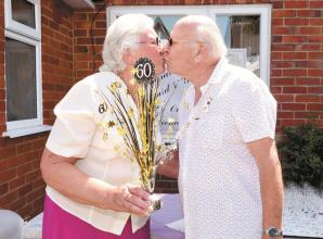 Sonning couple surprised with special celebration to mark 60th anniversary