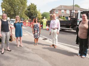 Three pedestrian crossings upgraded for start of new school term