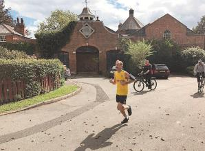 Marathon runner swaps Stockholm for Sonning