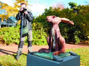 Savill Garden sculpture display celebrates the natural world