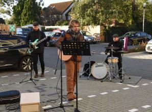 Live music raises spirits at Windsor care home