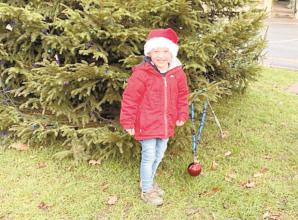 'It's made his Christmas' – young boy replaces bauble taken down from the village tree