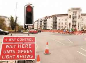 Oldfield Road works now complete and new junction opens
