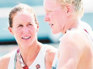 Mother-of-three Helen Glover falls just short in her quest for further Olympic glory