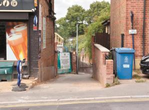 Maidenhead alleyway reopens after controversial closure