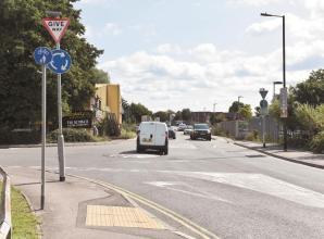 Viewpoint: Drivers ignoring mini-roundabout at Stafferton Way