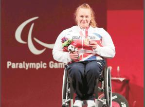 Louise Sugden claims Paralympic powerlifting bronze medal in Tokyo