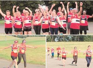 Maidenhead Half Marathon takes place in unusual surroundings