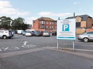 Car park could be developed into flats after land goes up for sale