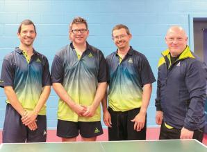 Table Tennis centre 'buzzing again' but tide turns against Cippenham's men's team