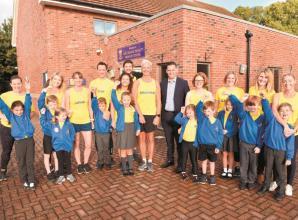 School team to run Reading Half Marathon to fundraise for new track