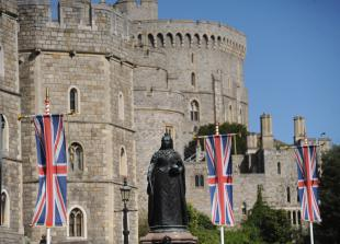King and Queen of Tonga to have tea with the Queen at Windsor Castle today