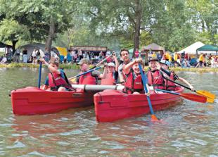 Teams take to the water as Sonning Regatta returns