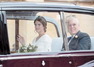 Wedding outfits of Princess Eugenie and Jack Brooksbank to go on show at Windsor Castle