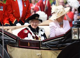 In pictures: Queen attends Order of the Garter Ceremony at Windsor Castle