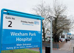 Frimley Health changes visitor policy due to increase in COVID-19 patients