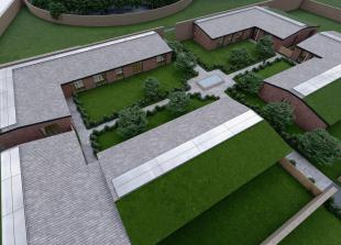 Plans approved for homes on Ascot greenbelt within Grade II listed walled garden