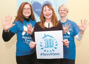 Alexander Devine charity celebrates 10th anniversary with new campaign